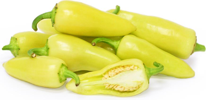 Hvite Jalapeño Peppers
