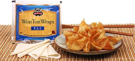 Square Wonton Wraps (Wing Hing)