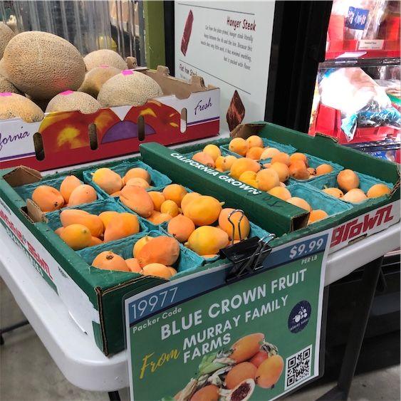 Fruta da Coroa Azul
